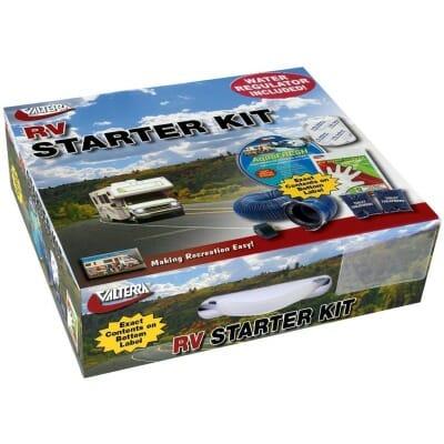 RV Starter Kit, Standard, with Water Regulator, Boxed
