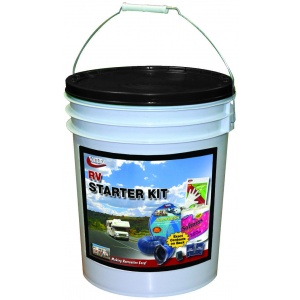 RV Starter Kit In A Bucket