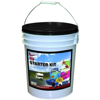 RV Starter Kit In A Bucket