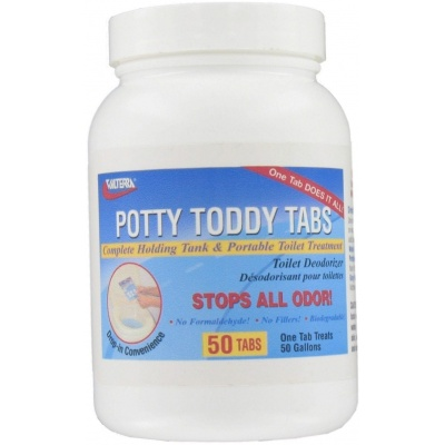Potty Toddy Tabs, 50 Per Bottle