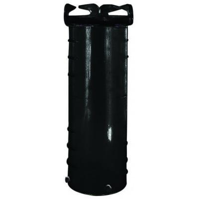 Hose Adapter, 10″, Black, Bulk