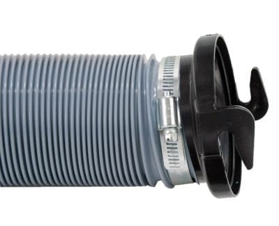 Hose Adapter, 3″ Straight, Black, Bulk