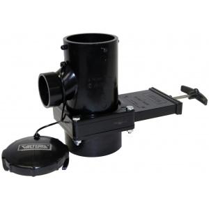 San Tee Rotating Valve, 3″ Hub x 1-1/2″ Hub x 3″ Bayonet Cap