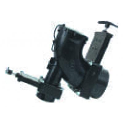 Heel Inlet Rotating Valve, 3″ Hub x 1-1/2″ Hub x 3″ Bayonet Cap