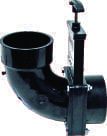 Ell 90° Rotating Valve, 3″ Hub x 3″ Elbow with Hub Outlet