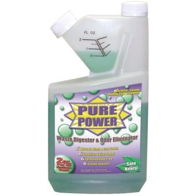 Pure Power Green, 32 oz. Self-Measuring Bottle