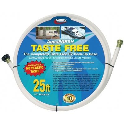 Drinking Water Hose, Taste Free, 1/2″ x 25′, White