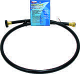Drinking Water Hose, Ebonyline, 1/2″ x 5′, Black