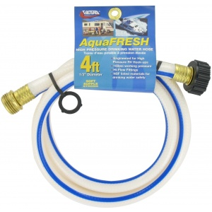 Drinking Water Utility Hose, 1/2″ X 4′, White