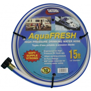 Drinking Water Hose, 1/2″ X 15′, White