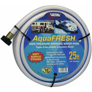 Drinking Water Hose, 5/8″ X 25′, White