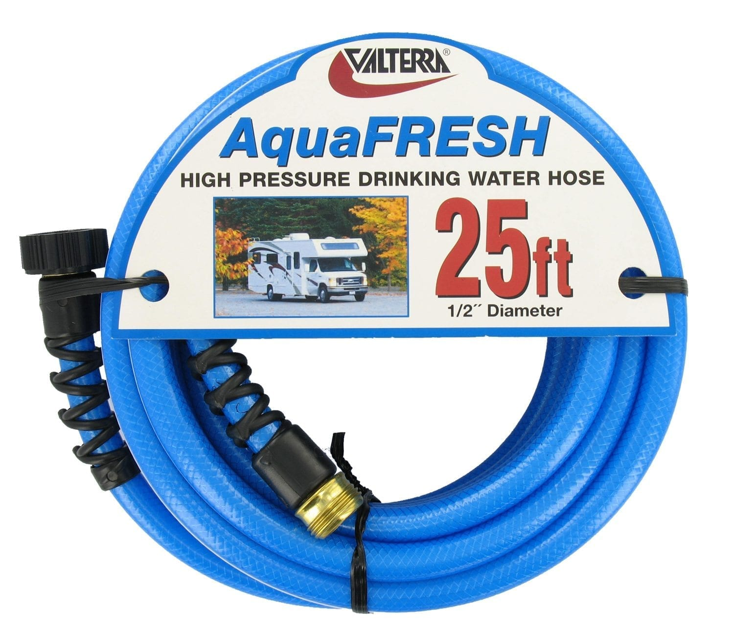 Drinking Water Hose, 1/2″ x 25′, Blue