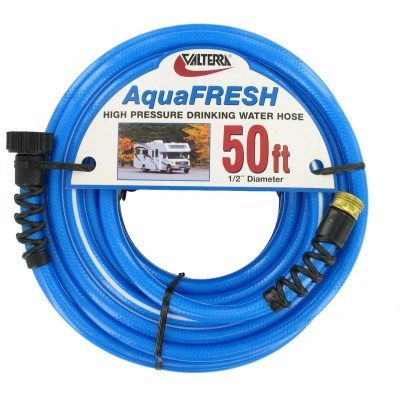Drinking Water Hose, 1/2″ x 50′, Blue