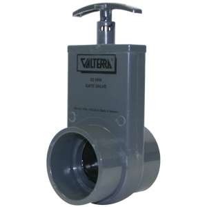 Metric Gate Valves with Plastic Paddles
