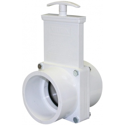 3″ Gate Valves with Stainless Steel Paddles