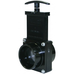 2″ Gate Valves with Stainless Steel Paddles