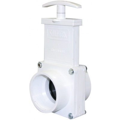 2″ Gate Valves with Plastic Paddles