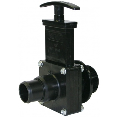 Union and Barbed Valves with Plastic Paddles