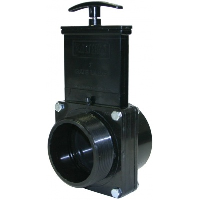 3″ Gate Valves with Plastic Paddles