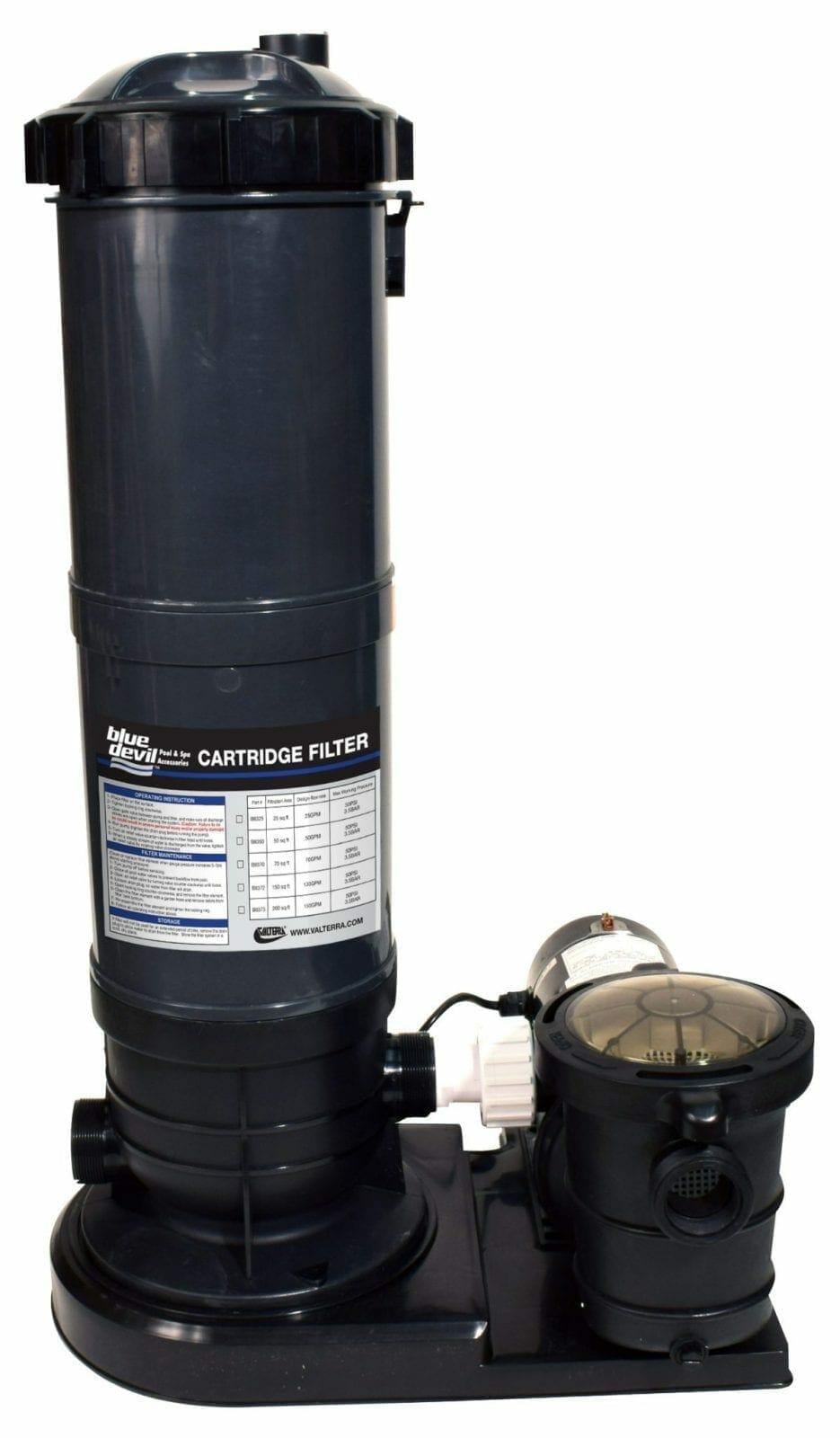 Cartridge Filter 70 Square Foot With 1 Hp Pump Valterra Com