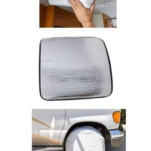 RV Wheel, Window, and Vent Covers