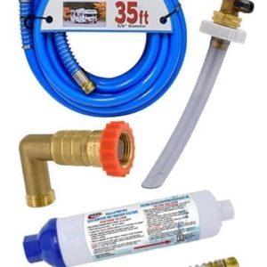 Fresh Water - Filters, Water Hose, Regulators and Secure Fill