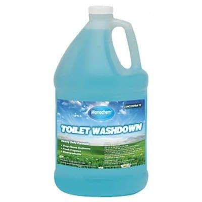 toilet washdown blue