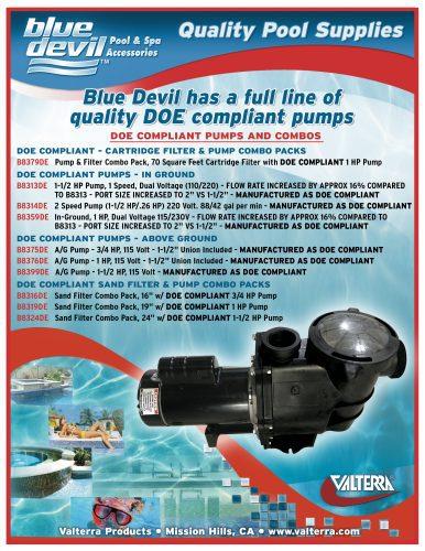 Blue Devil DOE Pumps Flyer